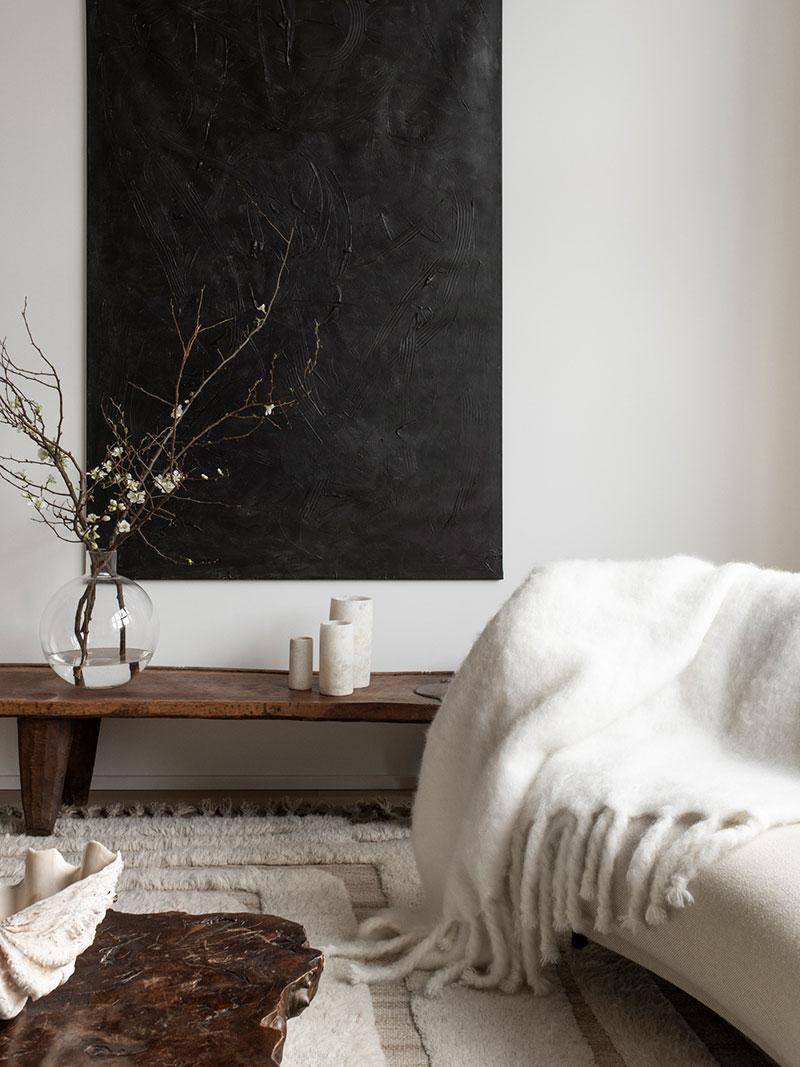 Приятный современный дизайн в спокойных тонах от декоратора Pella Hedeby