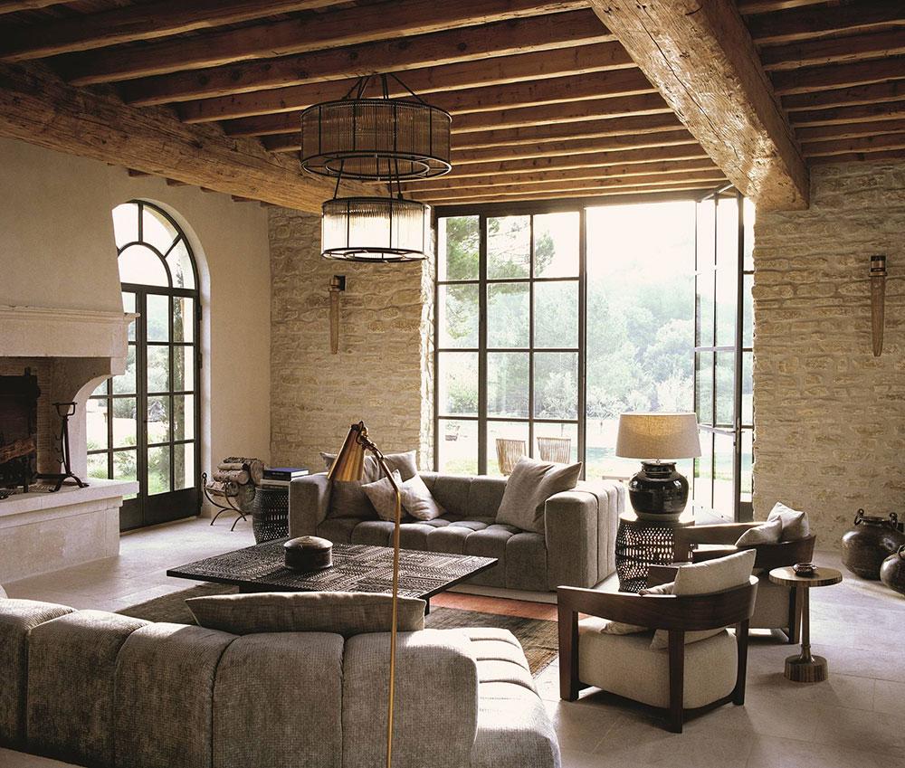Стильный дизайн традиционного прованского дома на юге Франции