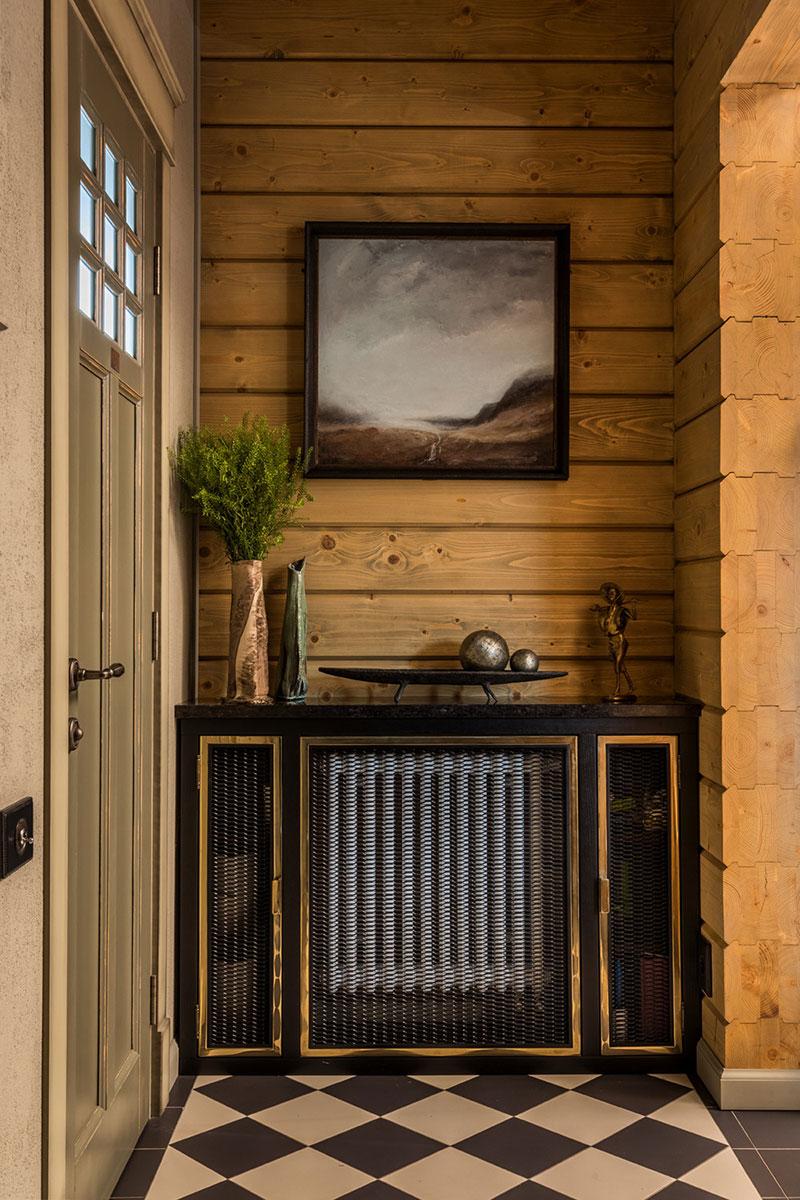 Небольшой дом из бруса в Подмосковье (132 кв. м)