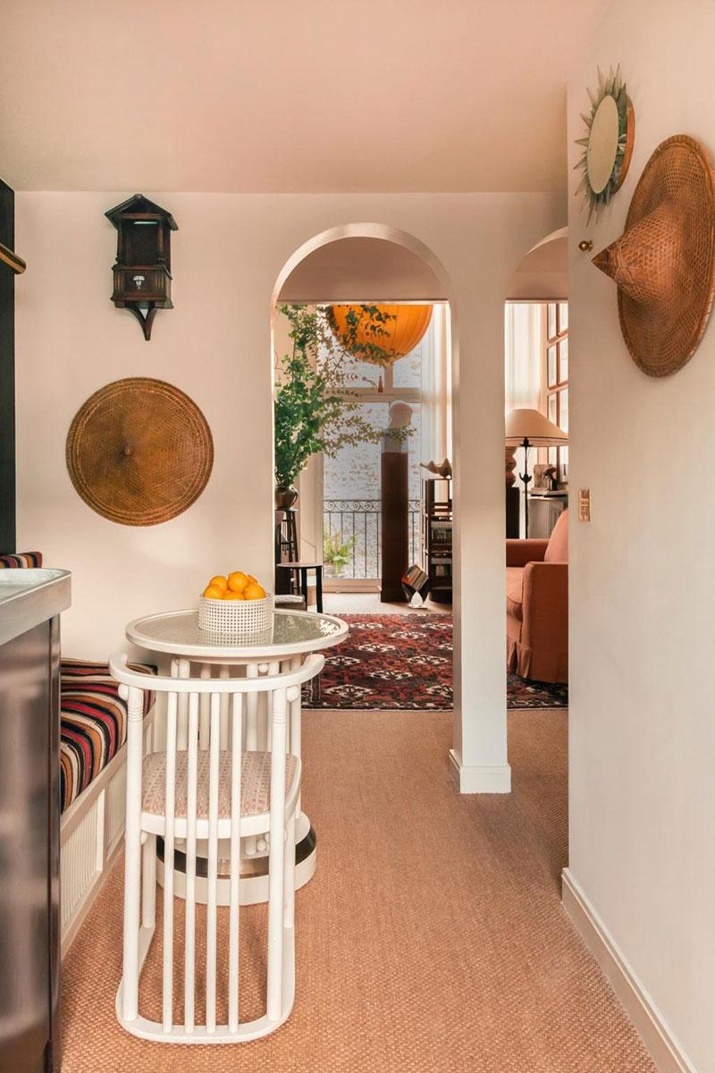 Чудесная маленькая квартира итальянского дизайнера в Париже