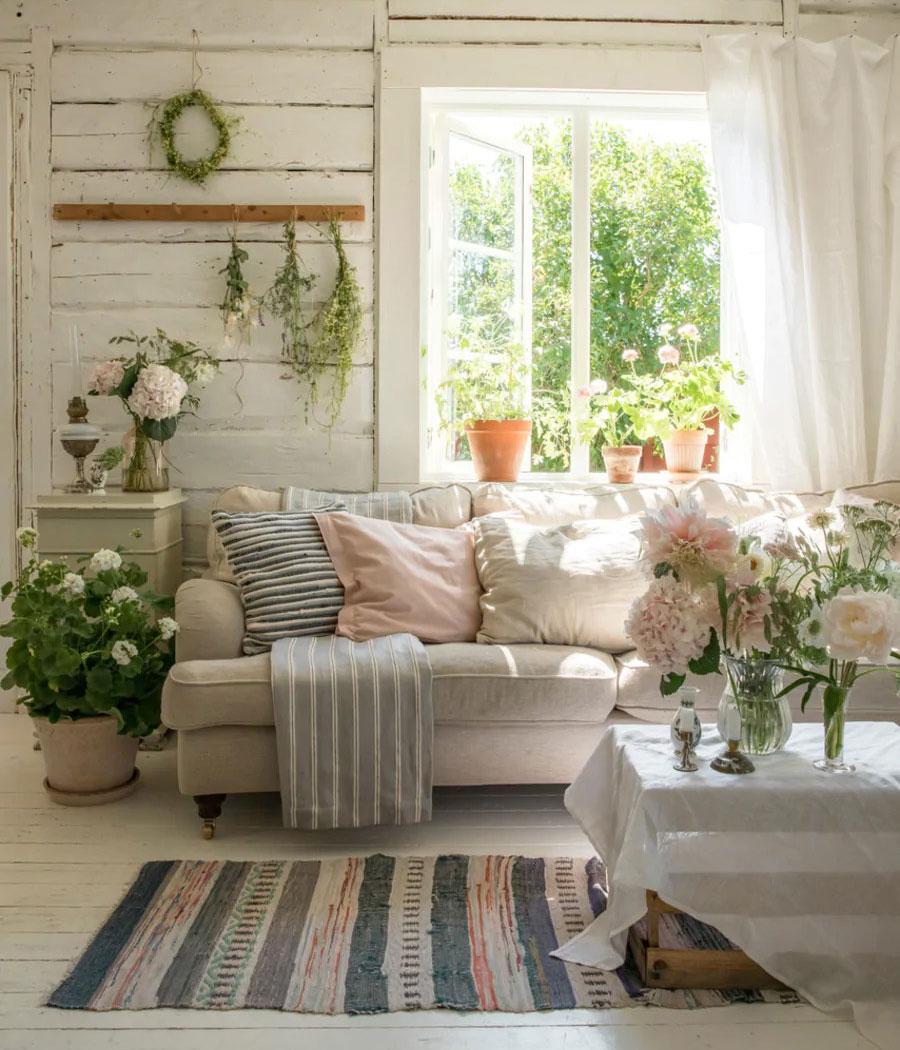 Старая шведская дача, наполненная любовью и очарованием