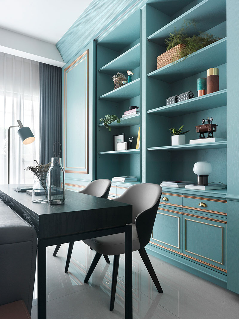Welp Tiffany color in design: how to decorate your home with trendy RQ-94