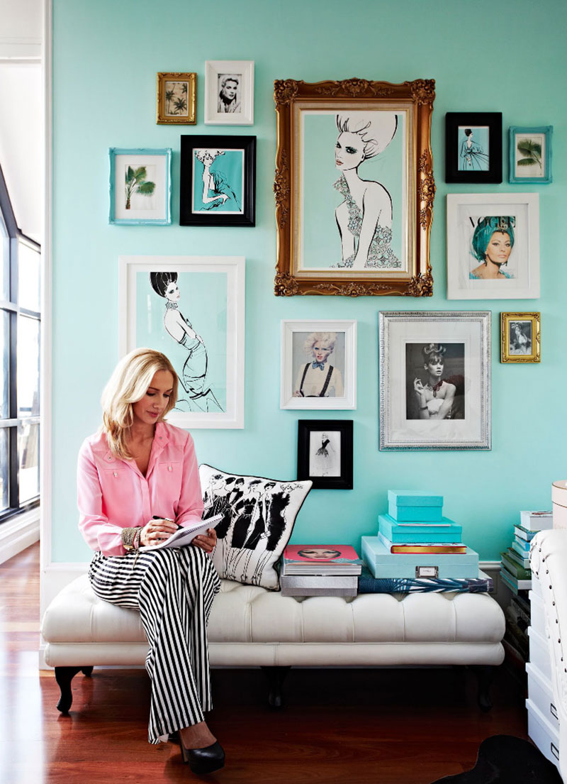 Tiffany Color In Design How To Decorate Your Home With Trendy Shade Of Turquoise Pufik Beautiful Interiors Online Magazine
