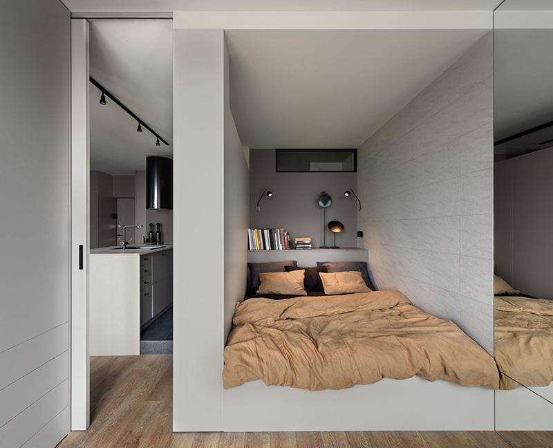 Компактность и стиль: маленькая арендная квартира в Киеве (43 кв. м)