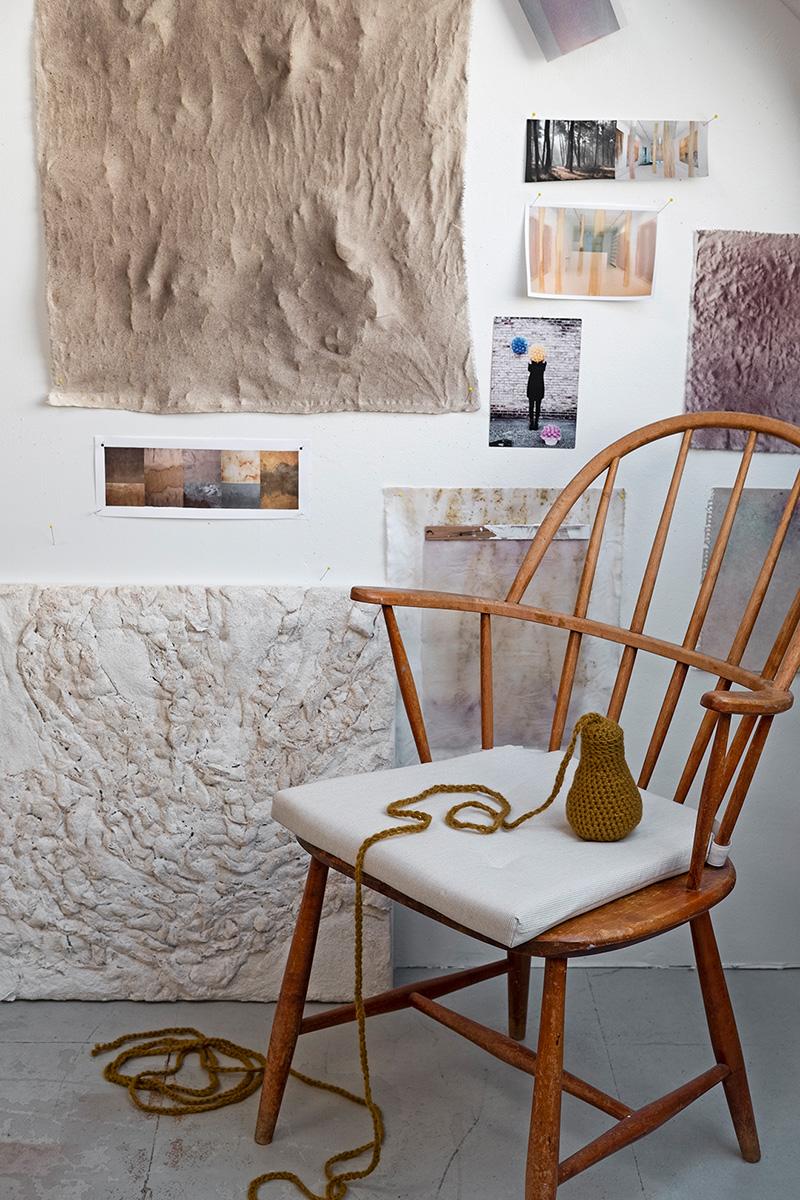 Дом художника по текстилю в здании бывшей карандашной фабрики в Дании
