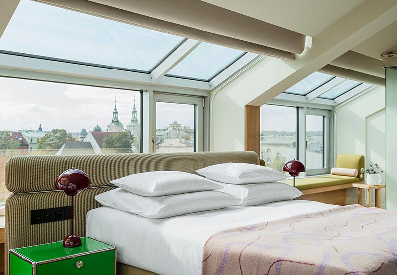 Обновлённый дизайн отеля PURO в Кракове