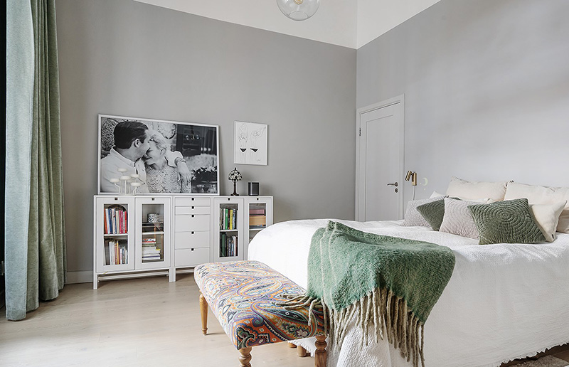 Впечатляющая квартира с высокими потолками и видом на залив в Стокгольме