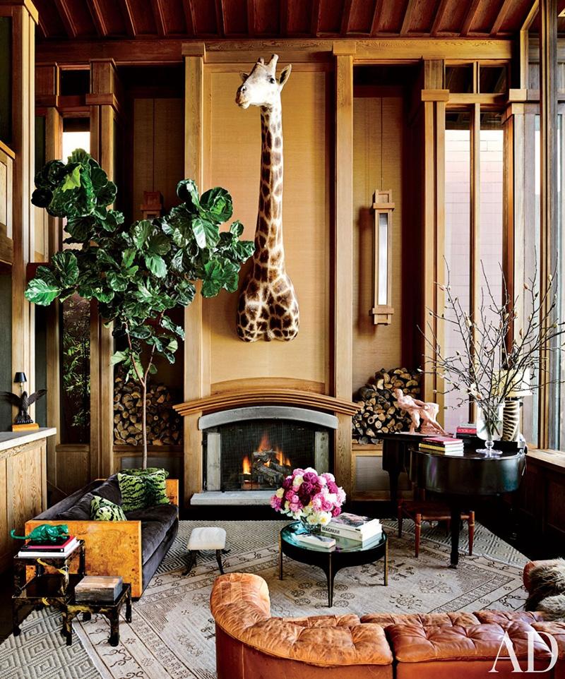 Великолепные дома знаменитостей в портфолио фотографа Douglas Friedman