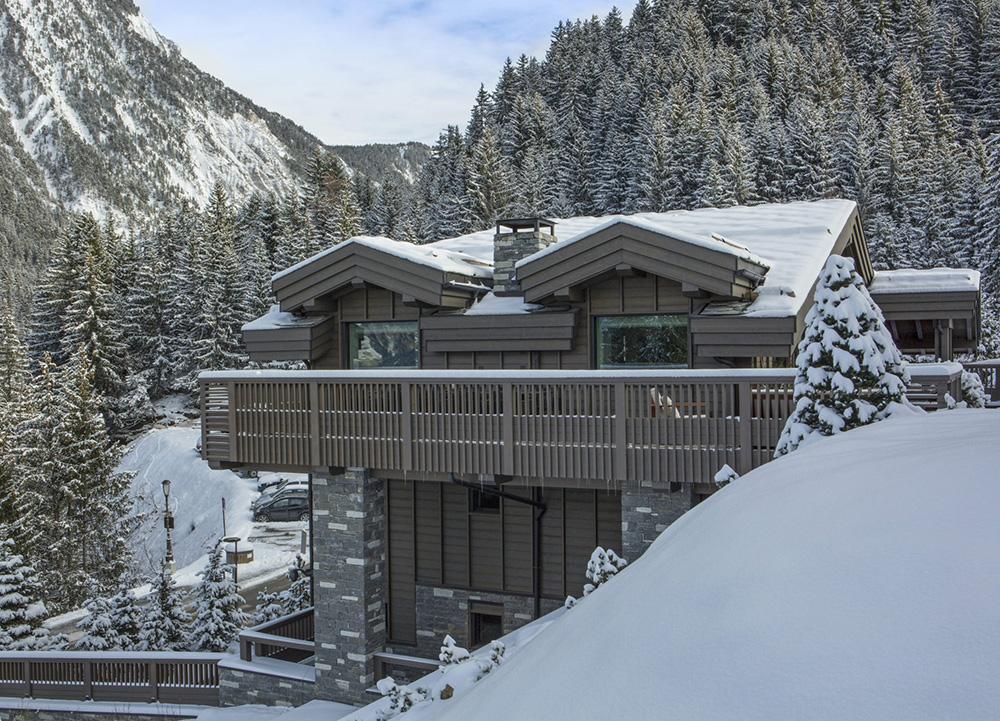 Альпийское шале от английского дизайнера