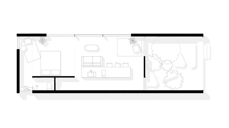 Дом архитектора в окружении леса на острове Тасмания
