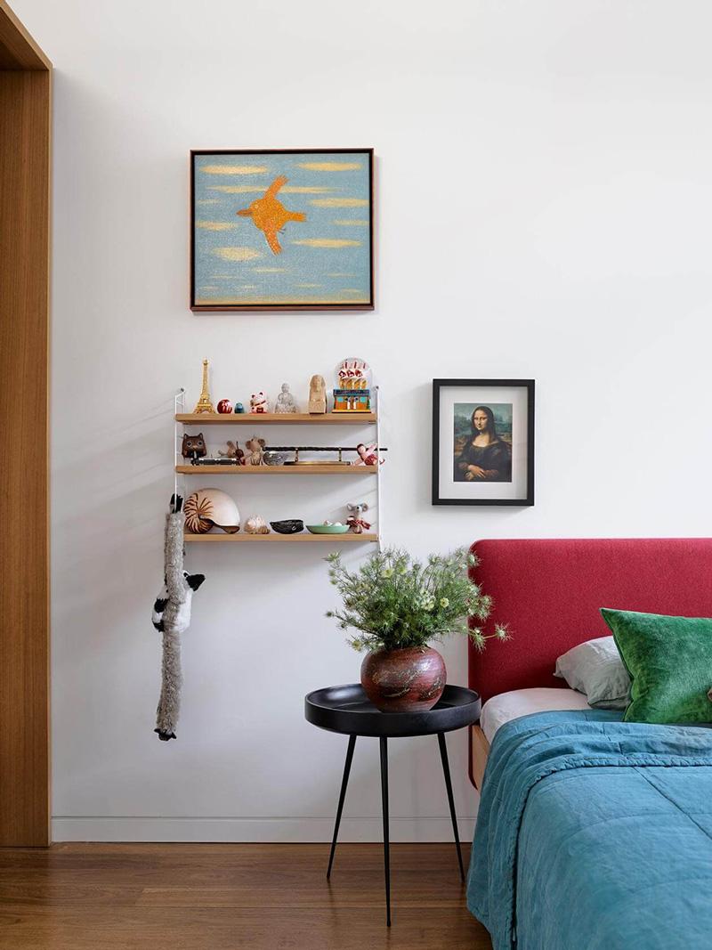 Дом коллекционера искусства с видом на набережную в Сиднее