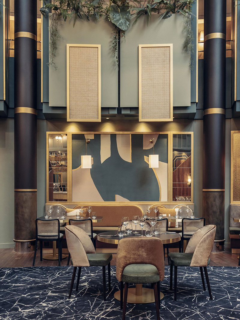 Смелый дизайн и вдохновение 80-ми: отеля Nest MGallery в Париже
