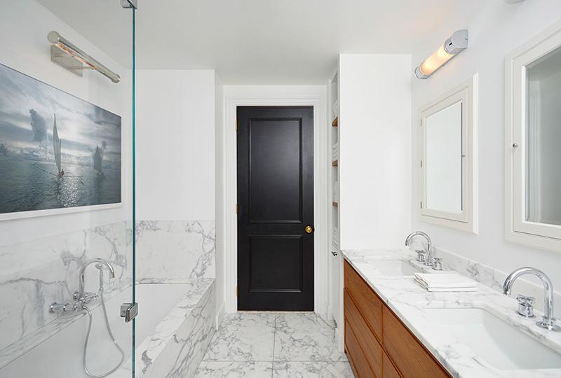 Современная квартира с роскошным видом на Манхэттен