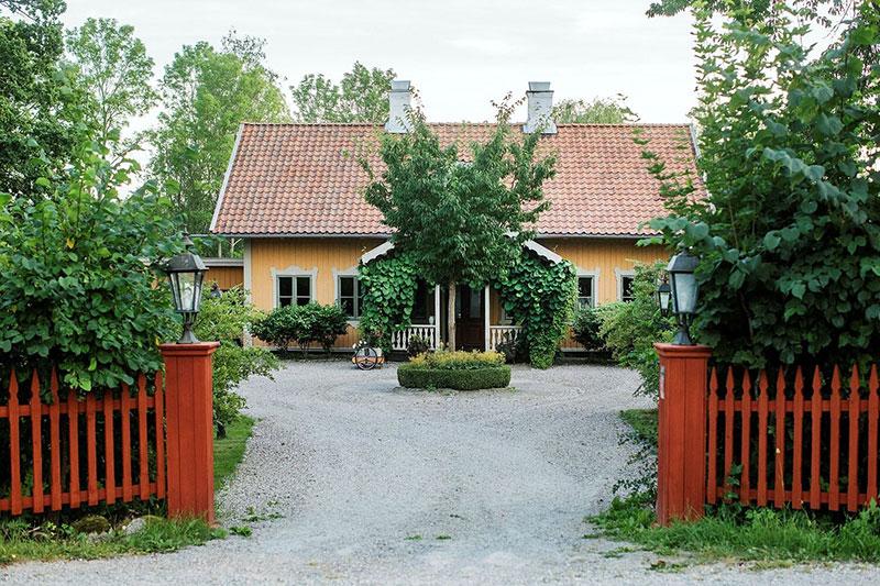 Чудесный фермерский дом в шведской деревне
