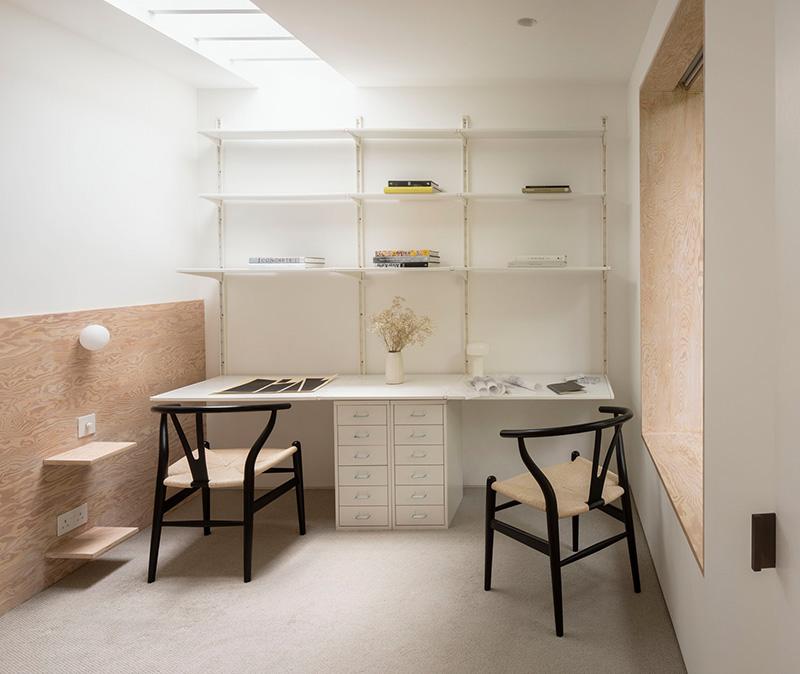 Чистые линии и элегантный минимализм в дизайне викторианского дома в Лондоне