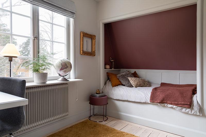 Безупречное обновление традиционный виллы в Швеции