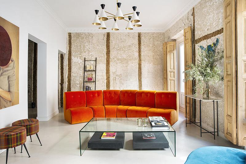 Детали из прошлого в интерьере квартиры в Мадриде