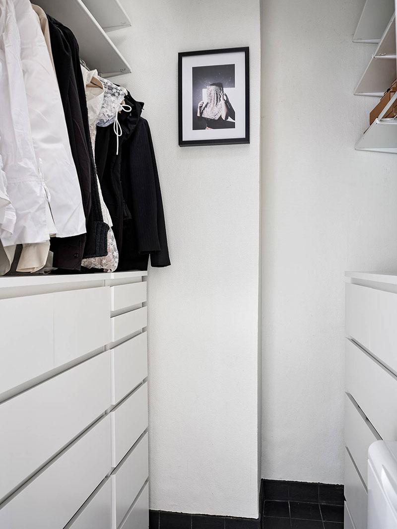 Неожиданная эклектика в одной скандинавской квартире (56 кв. м)