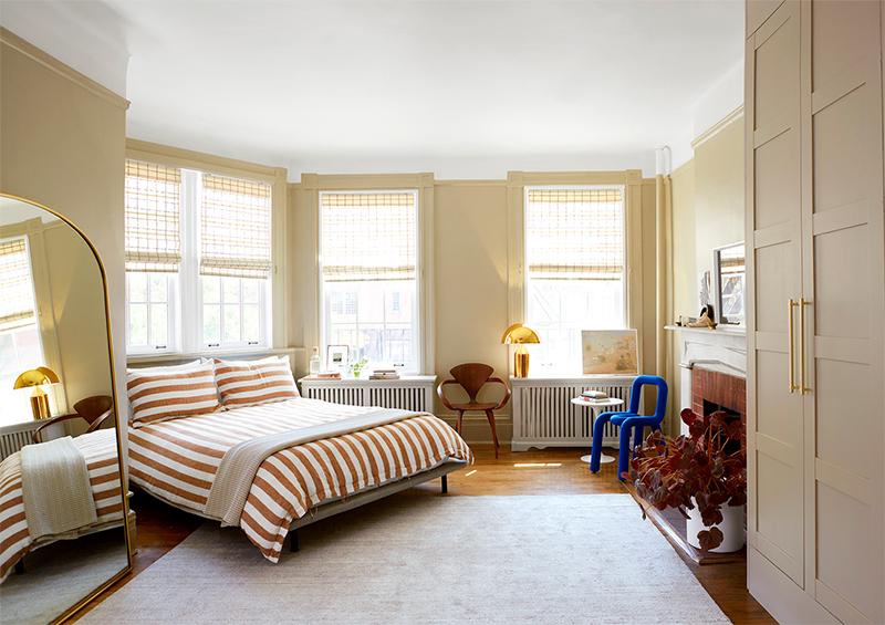 Необычная архитектура и красочные интерьеры: креативные апартаменты в Нью-Йорке