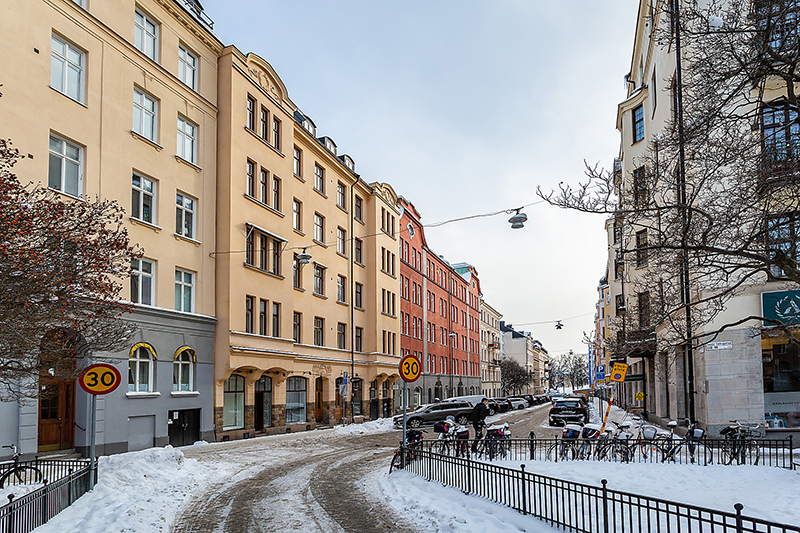 Мягкий монохром в дизайне шведской квартиры (65 кв. м)
