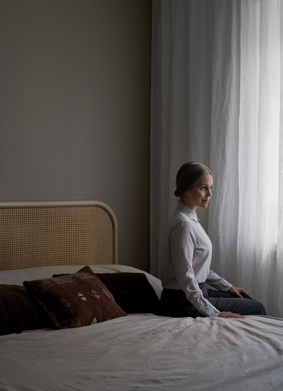 Серая симфония: дом финского дизайнера интерьеров