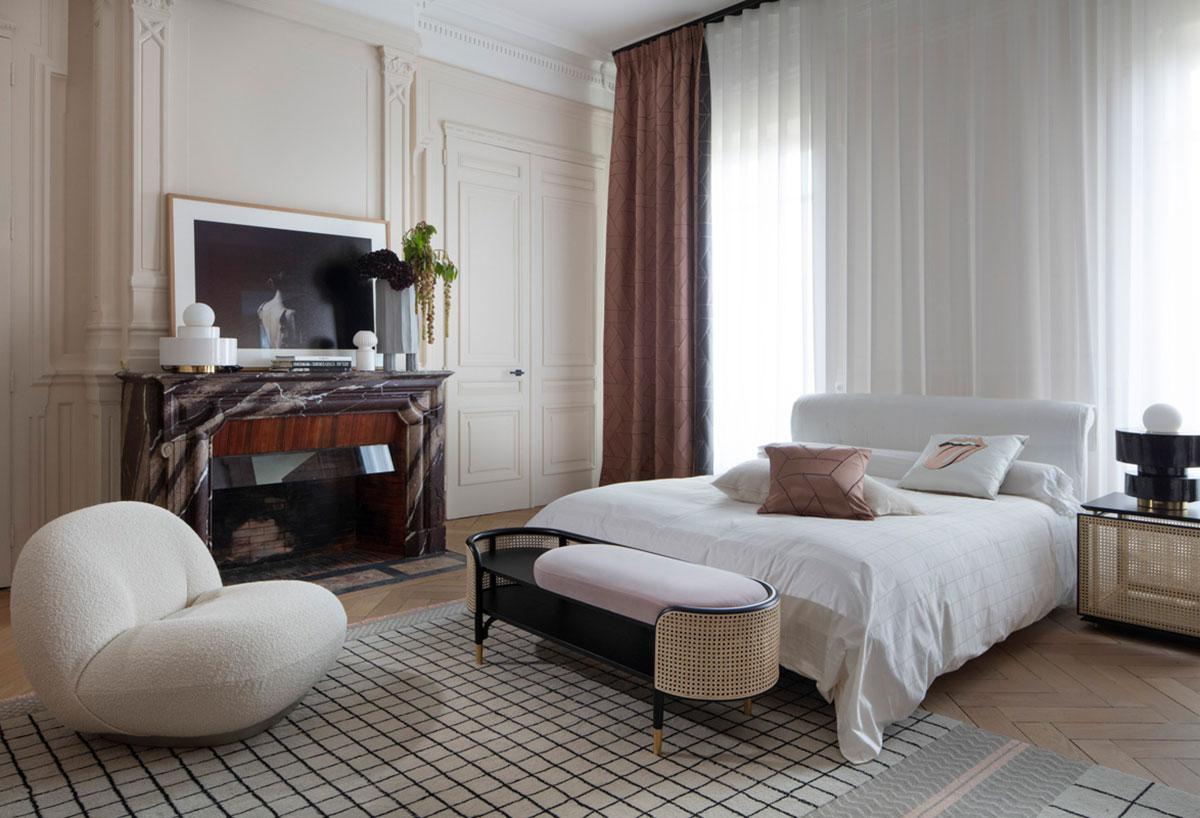 Великолепный интерьер в Лионе от дизайнера Claude Cartier