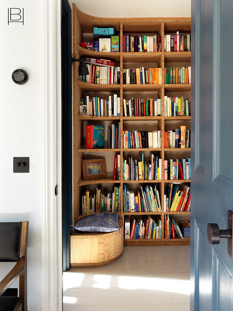 Жизнерадостный и живой интерьер дома для большой семьи в Лондоне