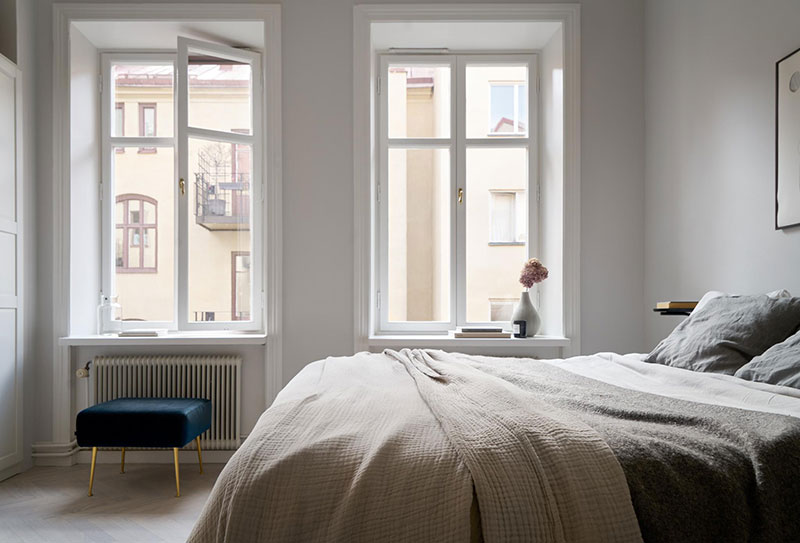 Спокойный и элегантный скандинавский минимализм в Стокгольме