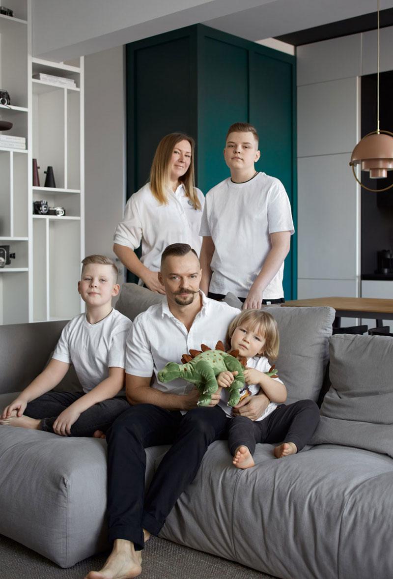 Интересная квартира семьи фотографа Сергея Ананьева в Москве