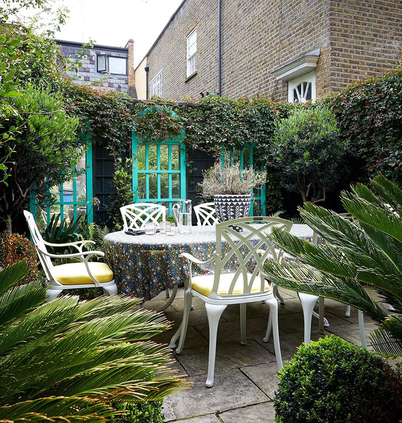 Красочный дом бразильской художницы в Лондоне