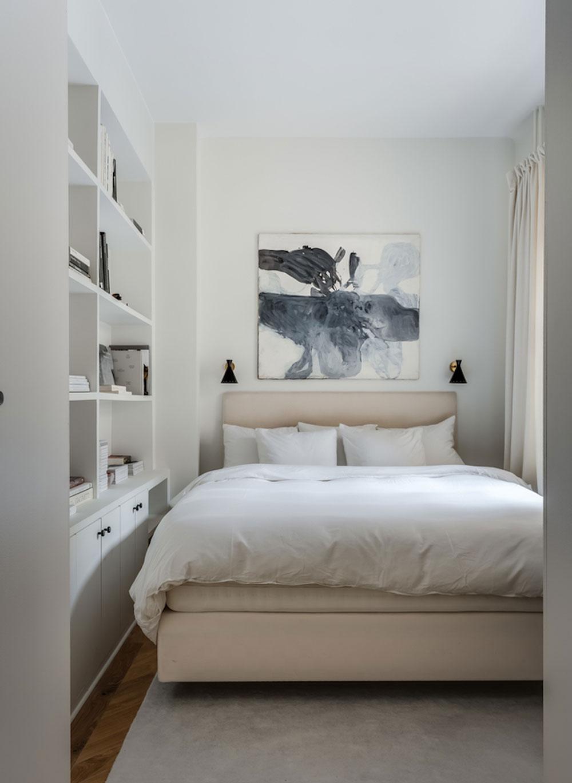 Утончённый скандинавский интерьер квартиры дизайнера в Стокгольме (62 кв. м)