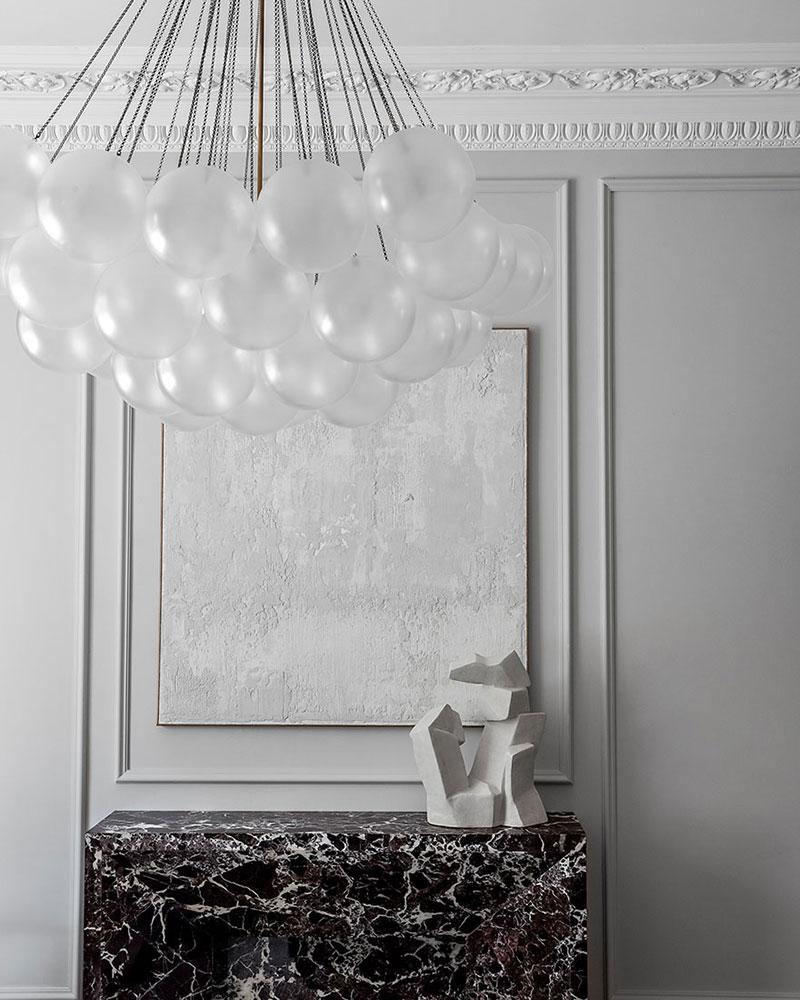 Изысканный современный английский интерьер роскошного таунхауса в Ноттинг-Хилл (Лондон)
