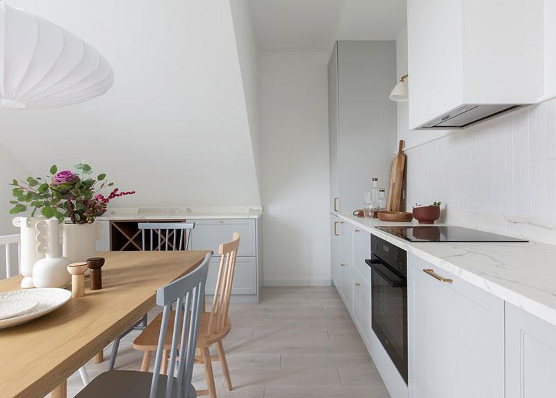 Скандинавская квартира в польском Лодзе