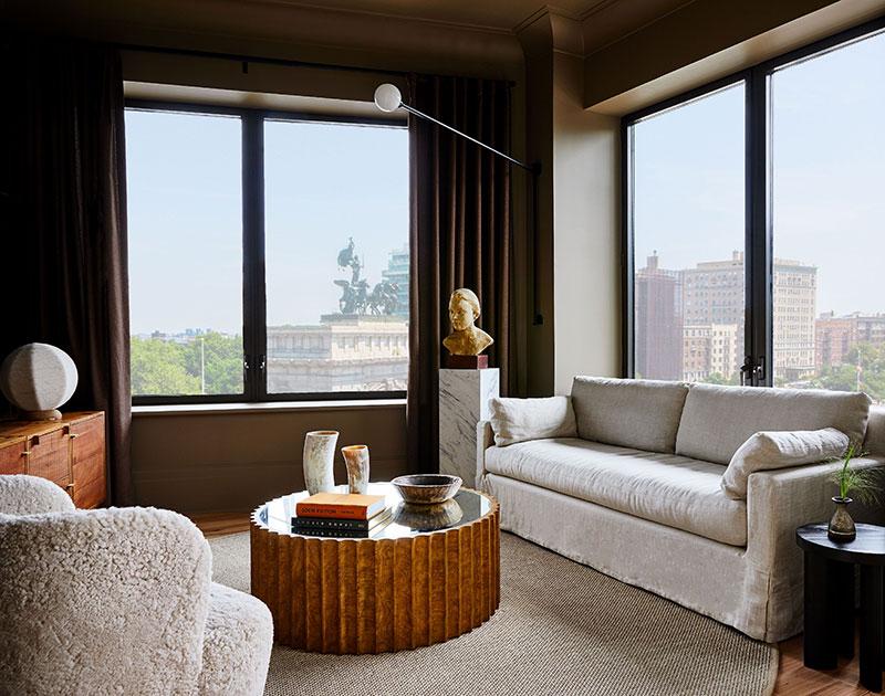 Апартаменты на месте бывшего отеля в Нью-Йорке