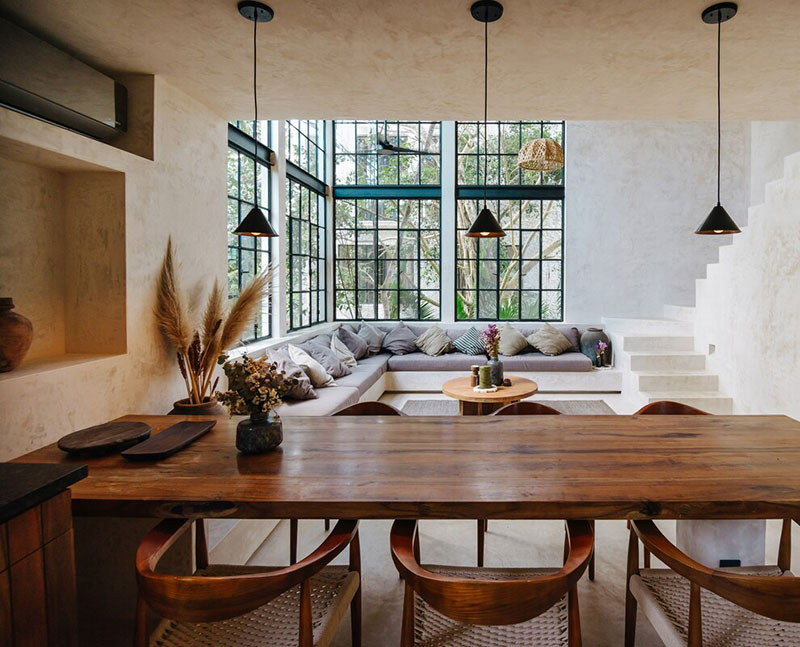 Тропики и безмятежность: двухуровневые апартаменты для аренды в Мексике