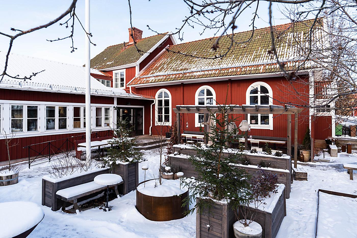 Удивительная реконструкция старой часовни в Швеции