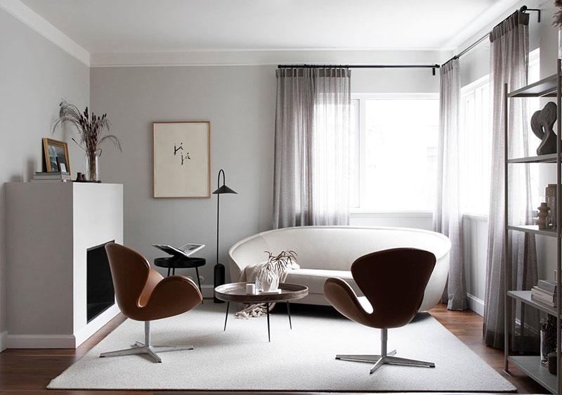 Стильные современные интерьеры от талантливого дизайнера из Исландии