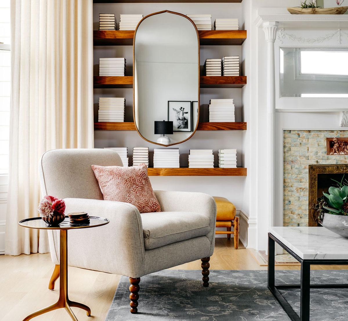 Как глоток свежего воздуха: яркий интерьер дома в эдвардианском стиле в Сан-Франциско