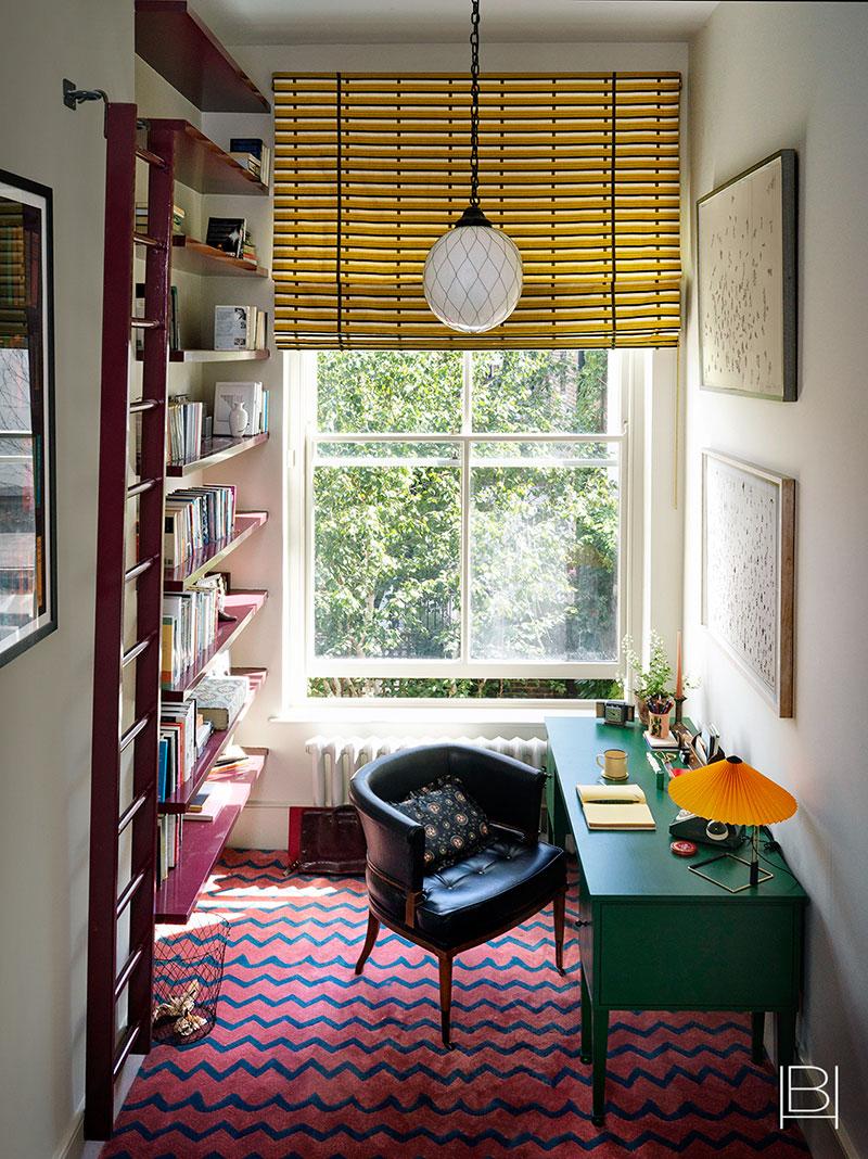 Яркая обстановка и множество деталей: причудливый интерьер в Лондоне
