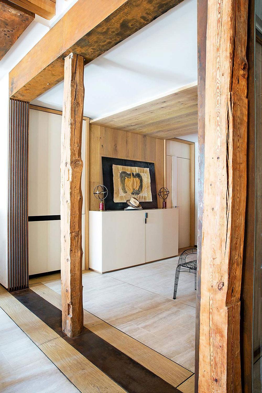 Квартира художника-декоратора с множеством интересных решений в Мадриде