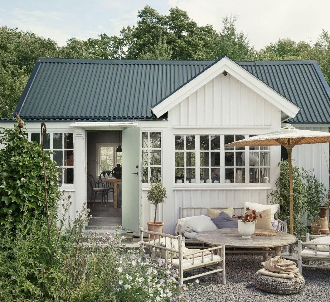Мастер-класс по оформлению маленького и очень уютного дачного домика (Швеция)
