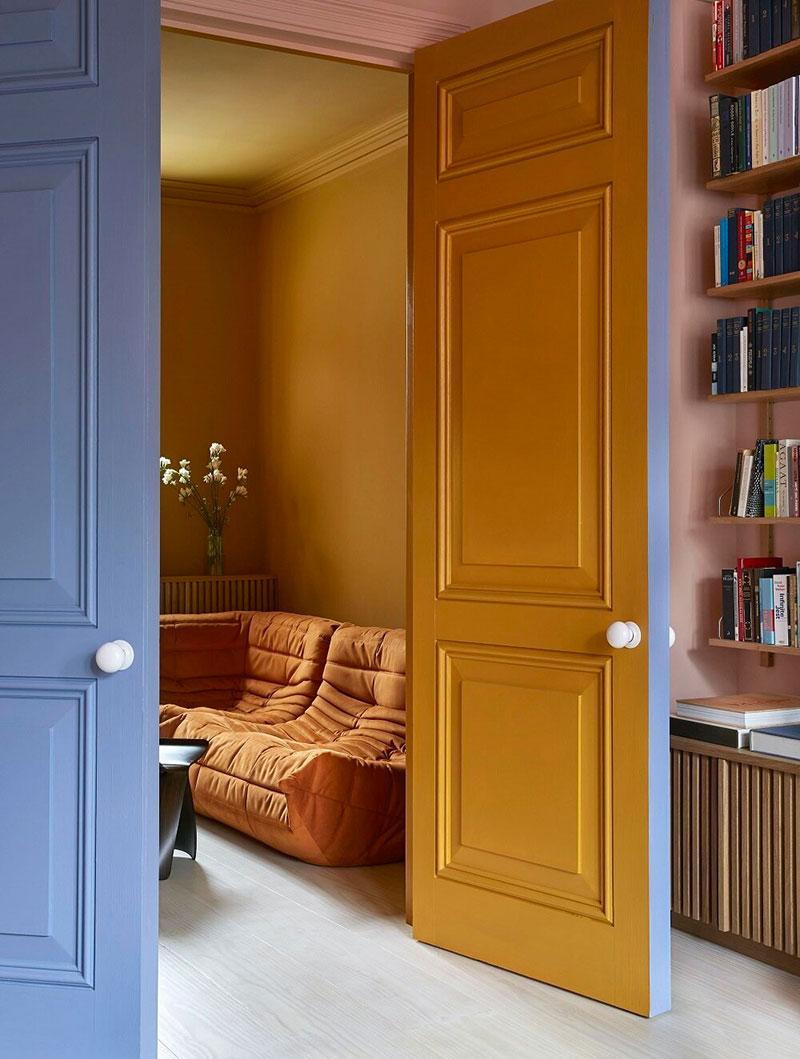 Привет, цвет! Красочный интерьер викторианского дома в Лондоне