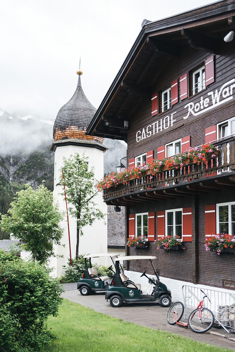 Rote Wand Gourmet: отель с традиционным альпийским колоритом в горах Австрии