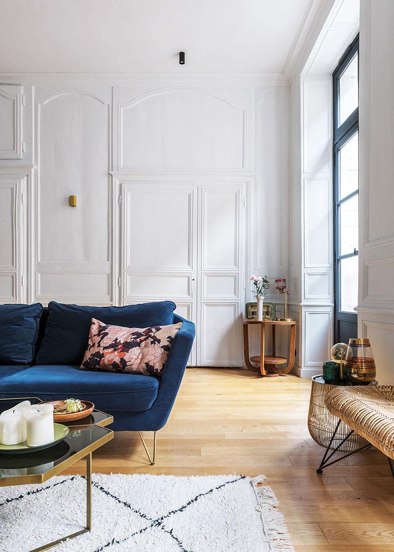 Современная квартира с классическим характером в Ренне