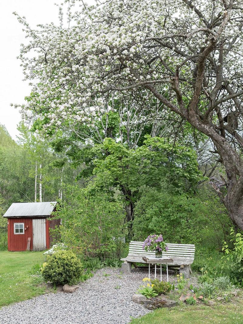 Всё сама: уютная дача в Швеции, которую хозяйка отреставрировала самостоятельно