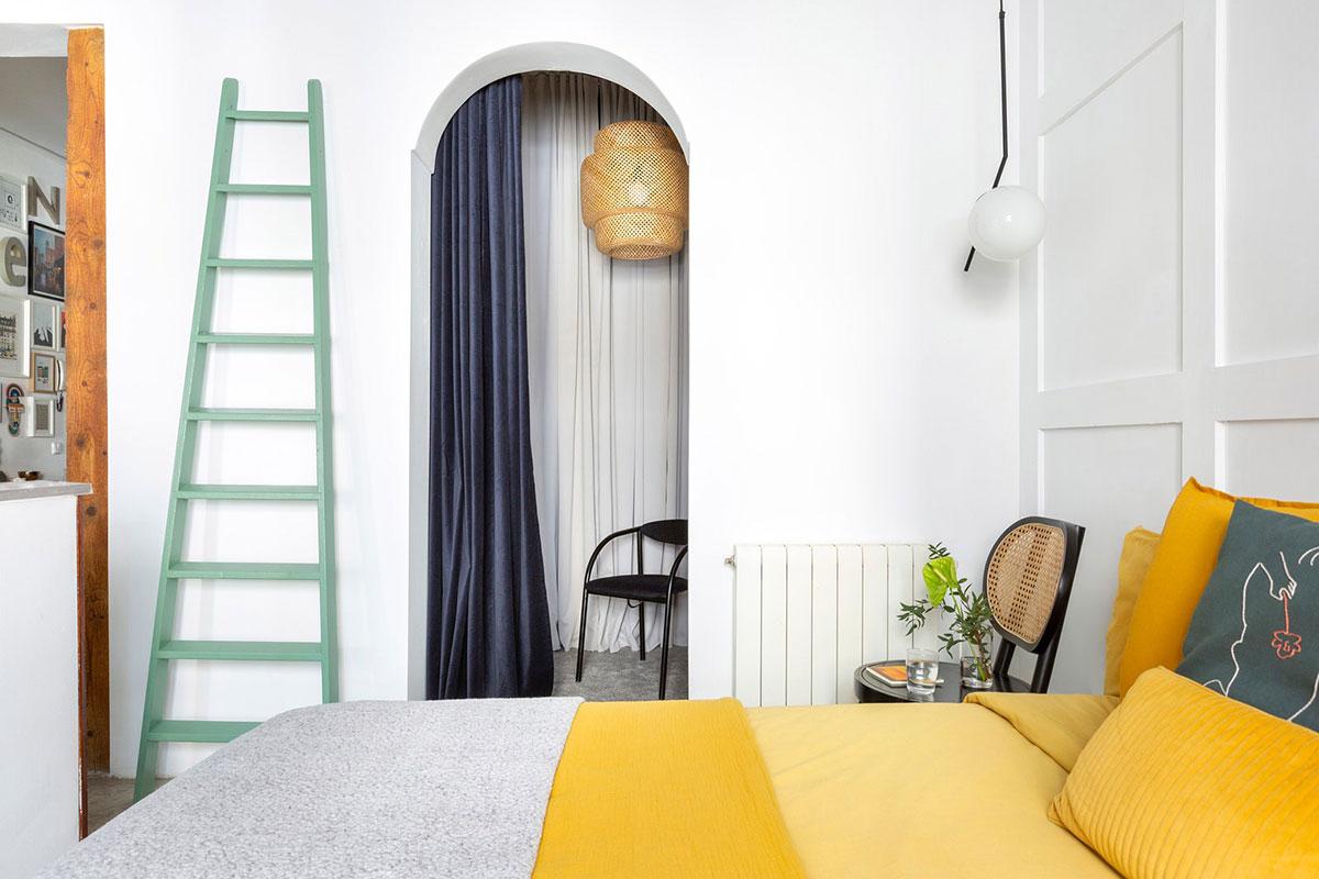 Королевство цвета: светлая и яркая квартира в Мадриде (75 кв.м)