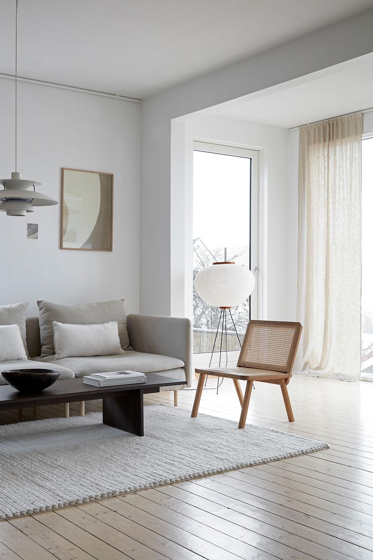 Спокойный и элегантный интерьер дома семьи дизайнеров в Норвегии