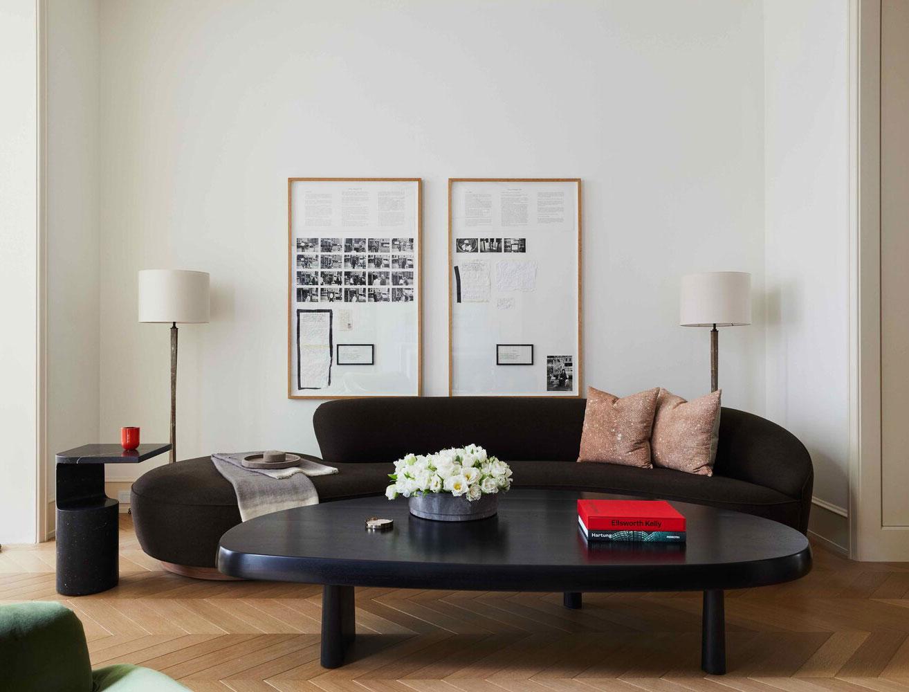 Изысканный таунхаус семьи коллекционеров искусства в Нью-Йорке