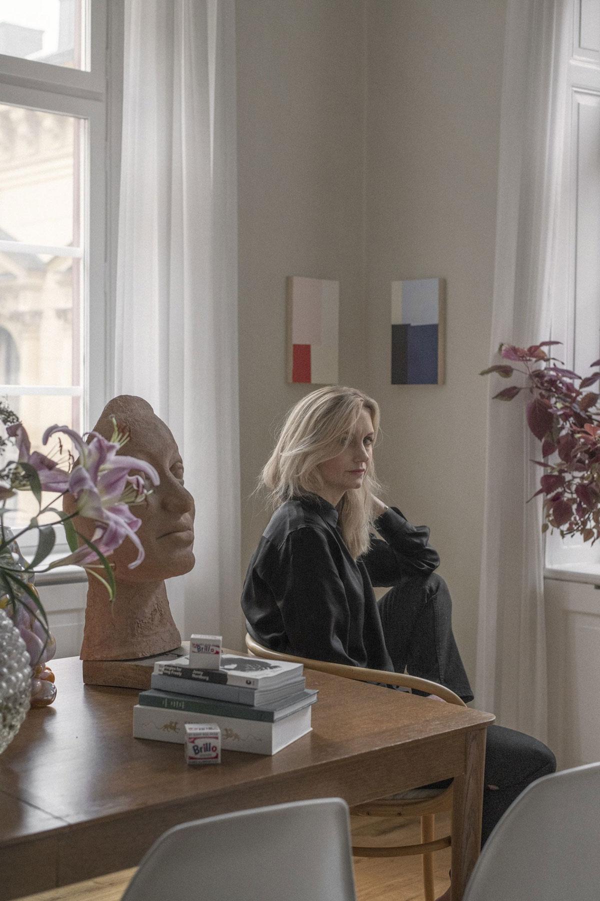 Квартира для коллекционера предметов искусства в Стокгольме