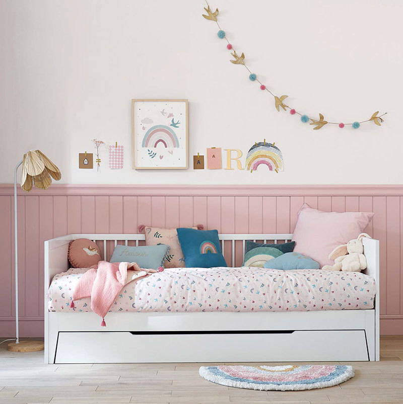 Милые пастельные детские с летним настроением в новом каталоге от Maisons du Monde